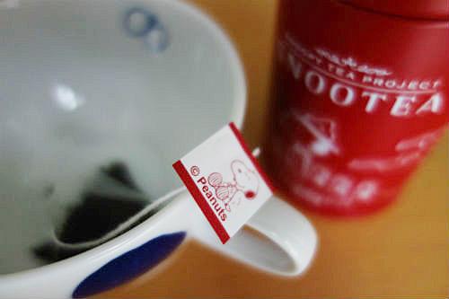 スヌーピーお茶2