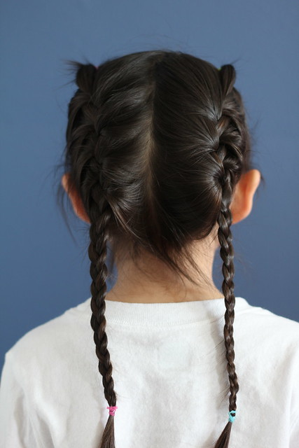 first french braids by replicate then deviate