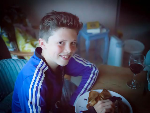 Harvey at 13