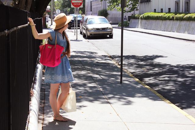 Savannah & a Straw Hat