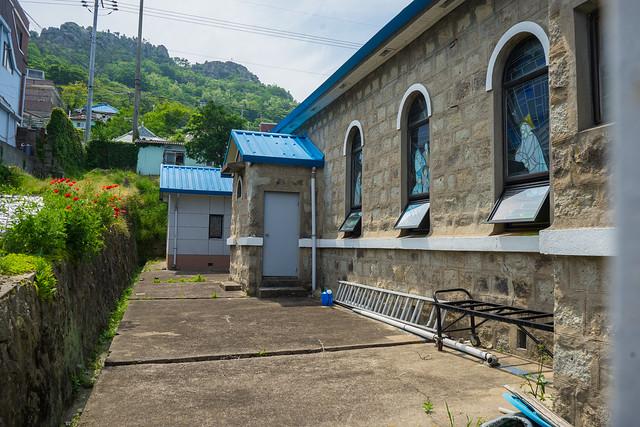 Bukgyodong Catholic Church, Mokpo, South Korea