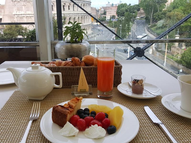 Aroma Restaurant Rome Breakfast