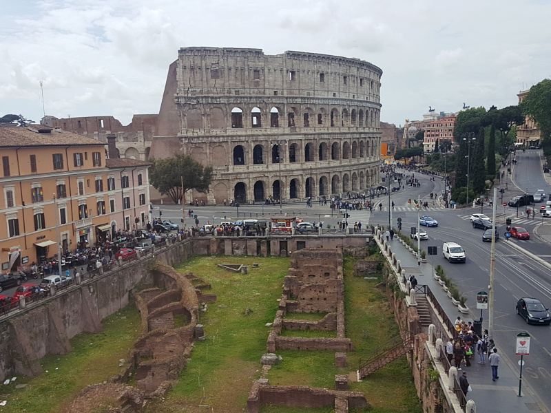 Colosseum view hotel