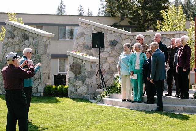 Hanson Garden Chapel Dedication