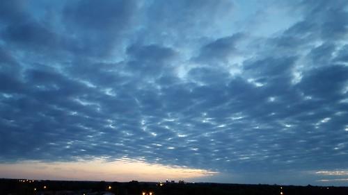 sunset skyline bartlesville cloudsstormssunsetssunrises galaxys6
