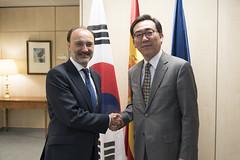 Visita del viceministro segundos de Asuntos Exteriores de Corea del Sur