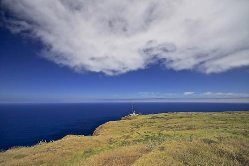 Vuurtoren Ponta do Pargo, Madeira