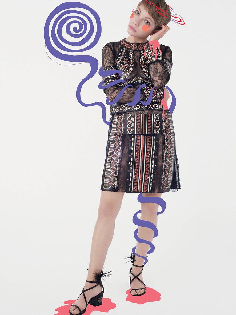 Тави Гевинсон — Фотосессия для «CR Fashion Book» 2016 – 2