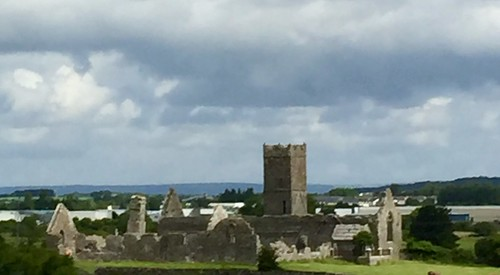 Castle viewed from the bus. Ennis, Claire, Ireland