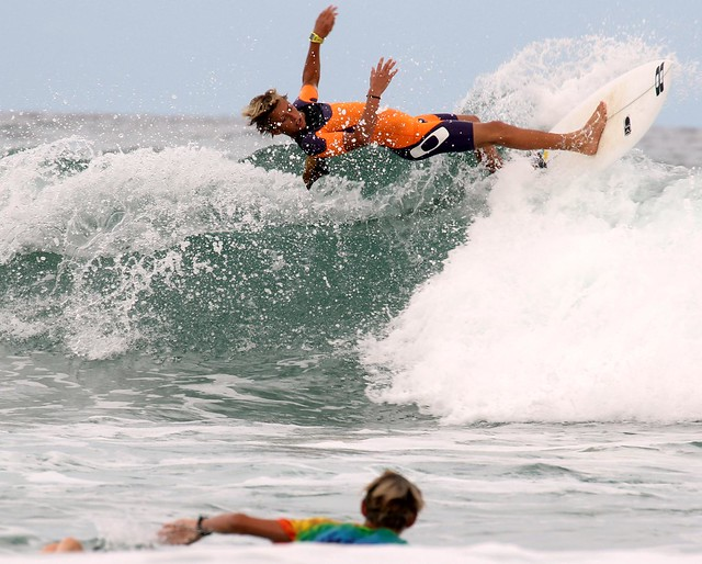 Wipeout - Lennox Head Surfers - 7 Mile Beach