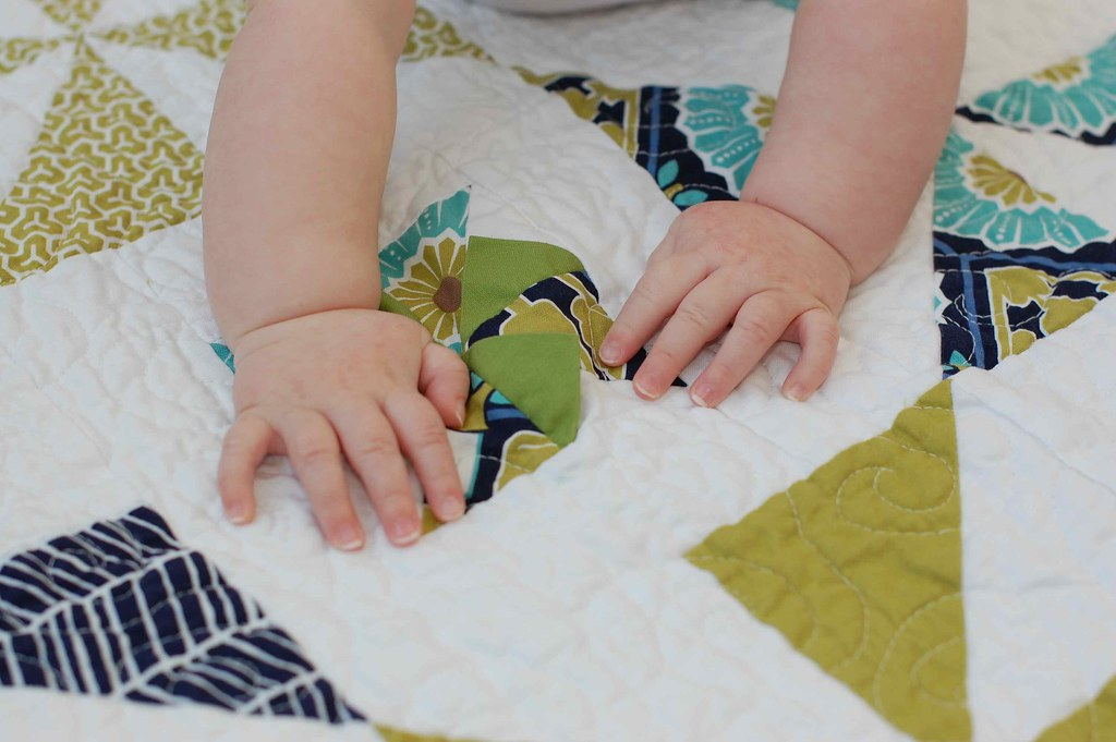 flappy pinwheel quilt