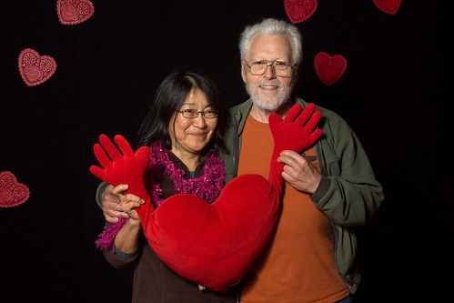 A valentine portrait by The Bacher Family