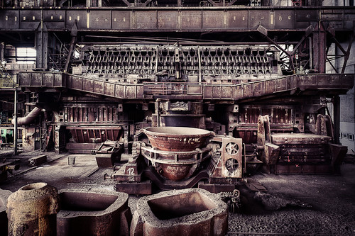 blast furnace by CmdrCord
