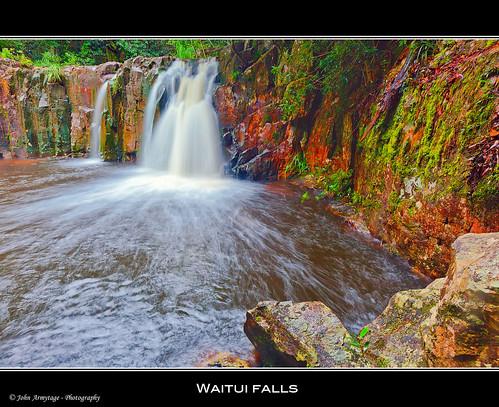 Waitui Falls - Coorabakh National Park.