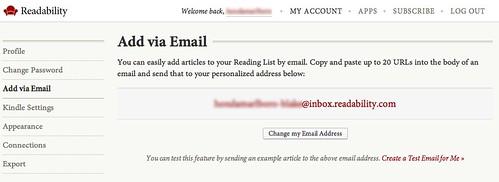 Inbox Readability