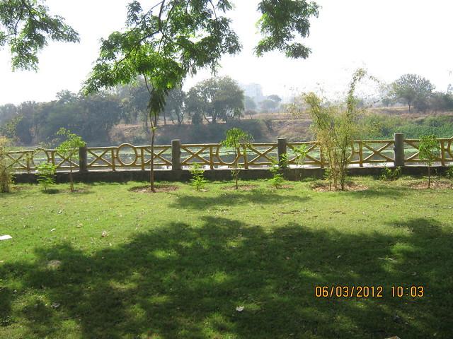 Shri Mhatoba Devasthan Mandir Park & Mula River at Wakad Pune 411 057