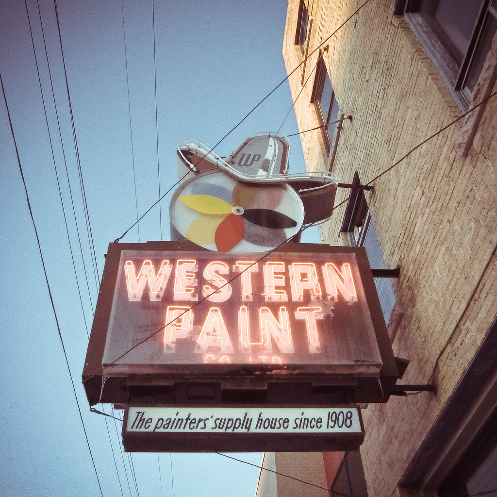 Western paint