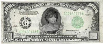 dinheiro feminino