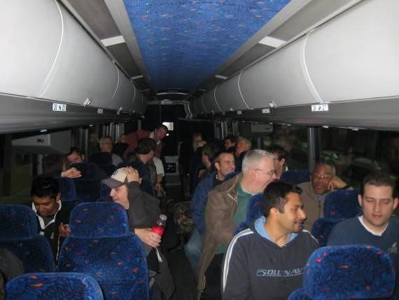 Les MVP font du bus