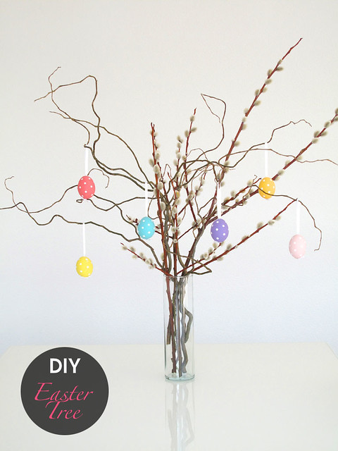 DIY: Easter Tree