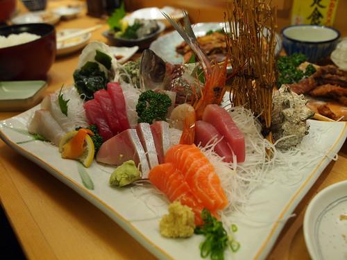 沼津港 魚河岸 丸天 - 近海刺身盛り合わせ定食