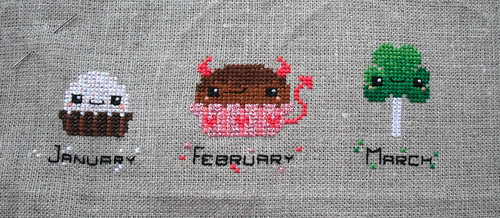 March Dessert Progress by jenniferworthen
