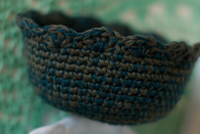 Crochet Key Bowl