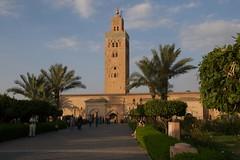 Mesquita da Koutoubia em Marraquexe
