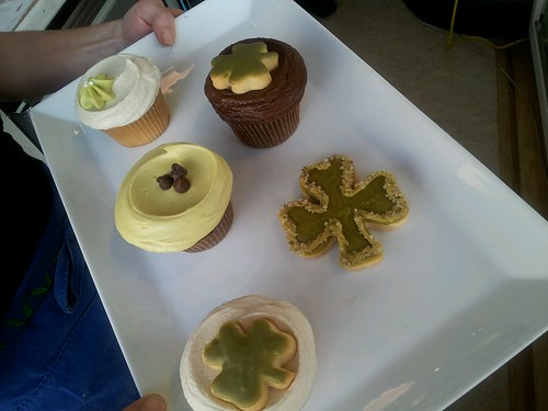 St. Patrick's Day Selections via Bloom Bake Shop by wendysoucie