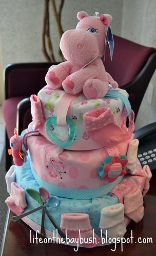 most beautiful diaper cake ever