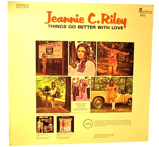 Jeannie C Riley - Things Go Better With Love (back)