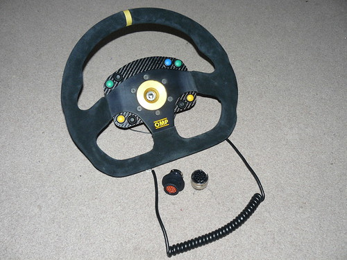 steering wheel with buttons