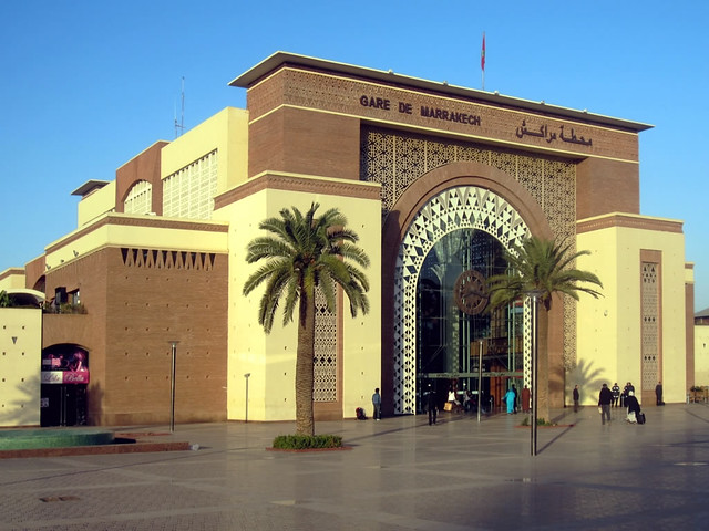 Marrakesh Train Station