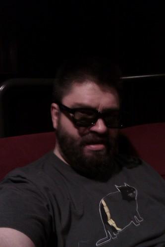3D glasses over regular glasses by christopher575