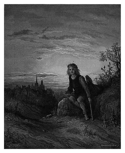 002-Wittington en Highgate-London A Pilgrimage 1890- Blanchard Jerrold y Gustave Doré- © Tufts Digital Library