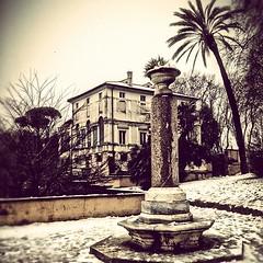 Tra le passeggiate del Gianicolo a veder la neve scendere su Roma