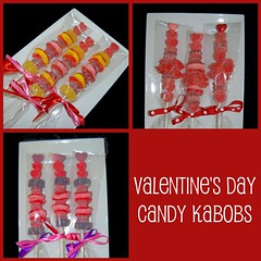 Simply Sweets Valentine's Day Candy Kabobs