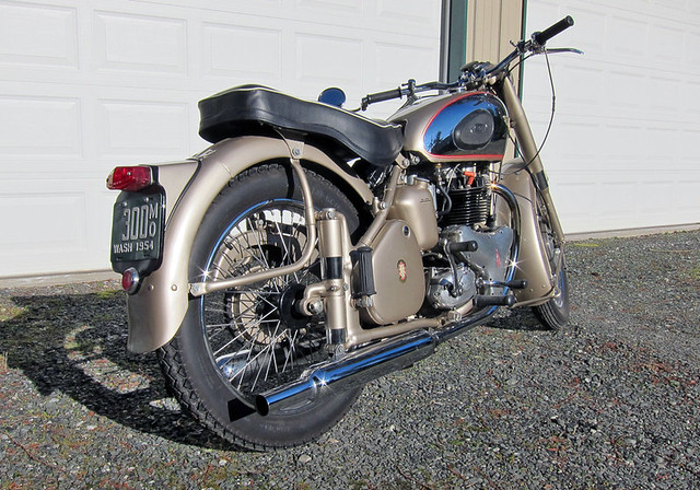1954 BSA A10 Golden Flash