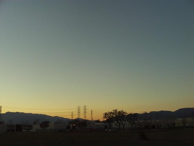 Mount Baldy at Sunset