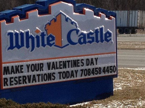White Castle sign in Wisconsin