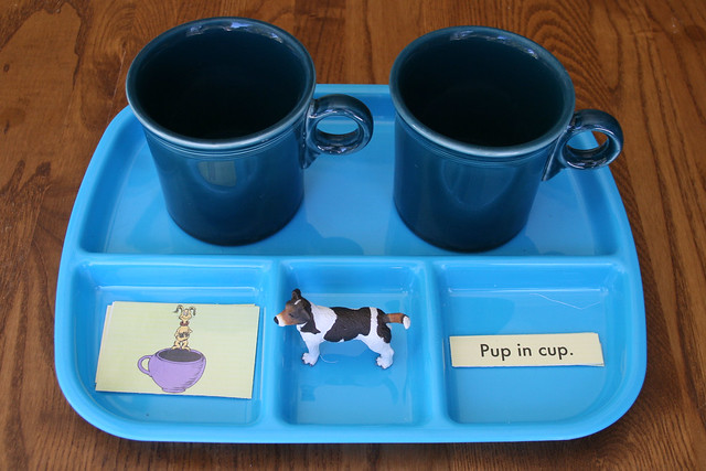Pup and Cup Activity Using Printable from Seussville.com