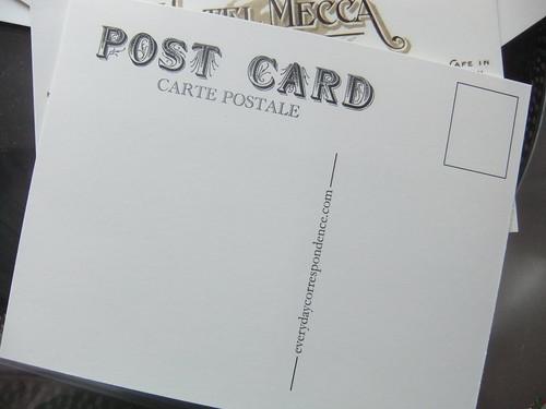 Hotel Mecca Postcard Back