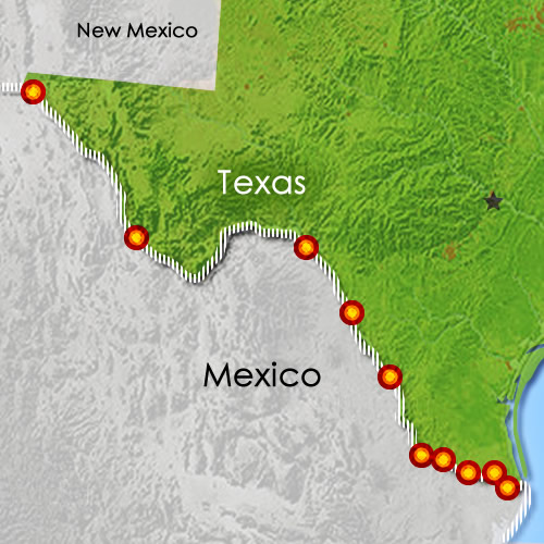 USDA's Market News produce movement reports track import data for fruits and vegetables coming into the U.S.  We recently expanded our reports to include ten unique crossing points along the Texas-Mexico border, allowing U.S. importers to more thoroughly forecast business needs.