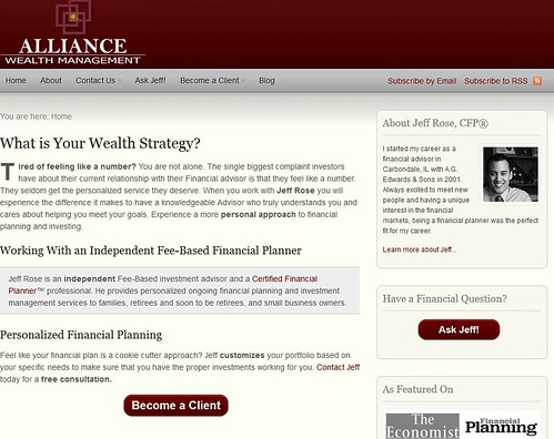 Starting a financial planning investment firm