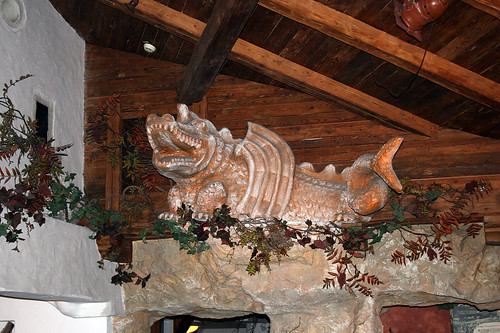 Der Tatzelwurm im Berggasthof Zum feurigen Tatzelwurm