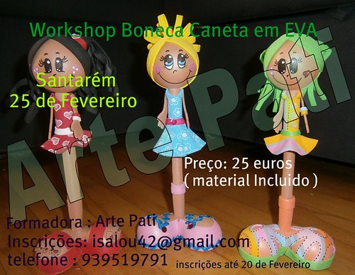 Workshop Canetas Fofuchas by Fuxiquices-da-isa