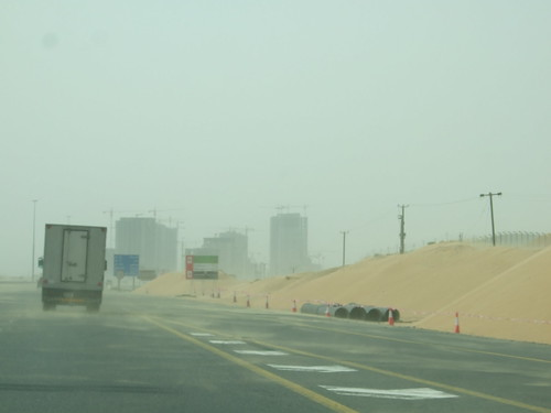 Construction and Sand Drifts