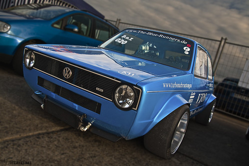 VW Golf MK1 VR6 Turbo by Wutzman