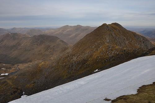 Sgurr nan Ceathreamhnan - East top