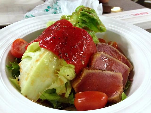 Tuna and Romaine Salad